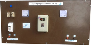 AC Single Phase Motor Panel